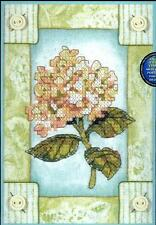 Dimensions CHARMING HYDRANGEA Flower Stamped Cross Stitch Kit - New