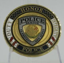 Arkansas Benton Police Department  challenge coin