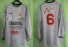 Maillot LA ROCHE SUR YON Porté #6 Umbro Vintage RVF Vendée Football - XL