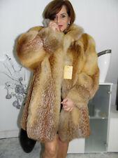 Pelzmantel Fuchsmantel Real Red Kanada Fox Fur Coat Fourrure Pelliccia Volpe MEX