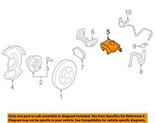 GM OEM Front Brake-Disc Caliper 13279639