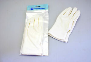 Source Moisturising Gloves - 1 Pair - Cotton/Polyester - Washable.