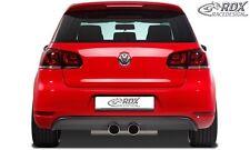 Volkswagen Golf MK6 GTI / GTD - Rear bumper spoiler