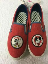 Junk Food - Mickey Mouse Casual Shoes - Red - Size 2 - Girls