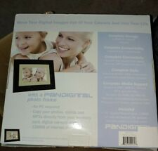 """Pandigital 7"""" Digital Photo Frame 128MB with Two Interchangeable Frames"""