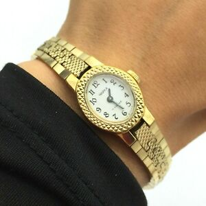 Vintage Ladies Watch CHAIKA Classic Mechanical USSR Women Bracelet Retro 1980s