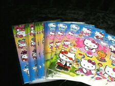Hello Kitty 25 X A4 hojas de brillante hoja de pegatinas (499) Bolsas De Fiesta Media