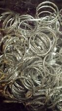 144 X SILVER WEDDING RINGS ,CARD/TABLE DECORATIONS  FAVOURS  NEW