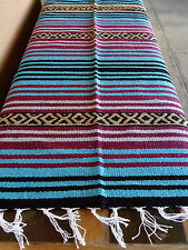 Peyote Serape Blanket ONWPT-11 Southwest Southwestern Mexican Afghan