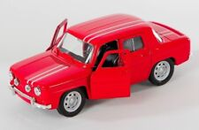 BLITZ VERSAND Renault R8 1960s rot / red Welly Modell Auto 1:34-39 NEU & OVP