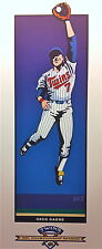Official MLB Playmakers Greg Gagne 1991 MN Twins World Series Champs Print