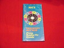1973 Houston Astros MLB Baseball Media Guide