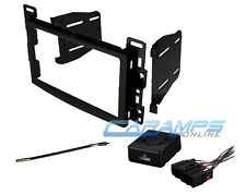 CAR STEREO DOUBLE DIN CD PLAYER INSTALLATION DASH TRIM KIT WITH CHIME INTERFACE