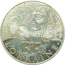 P8231 France 10 euros Jeanne Arc Lorraine 2012 Silver UNC -> M Offer