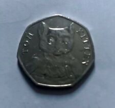 The Tom kitten Beatrix Potter 50p Fifty Pence coin 2017