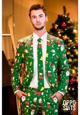 Santa Boss Mens Christmas Suit Opposuits sz 44 Nwt never worn