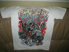 """CARNIFEX Men's ORG T-Shirt SIZE """"L"""" . NEW & NEVER USED"""