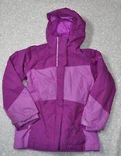 Columbia Girls' Pink 3 in 1 Interchange Jacket Fleece Shell Youth S Small 7 8 Ki