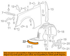 Chevrolet GM OEM 16-18 Camaro Fender-Deflector Right 23408774