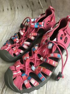 Keen Kids Water Shoe Sandal US Big Girl 4, Pink, Euc