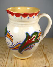 Art Deco Studio Pottery Leaf & Fruit Jug