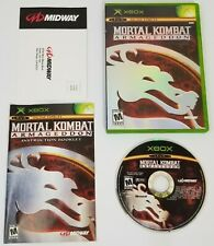 Mortal Kombat: Armageddon (Microsoft Xbox, 2006) Complete
