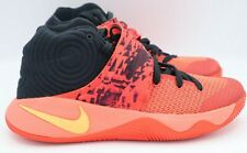 "Nike Kyrie 2 ""Inferno"" Bright Crimson/Orange/Black Men's Size 9"