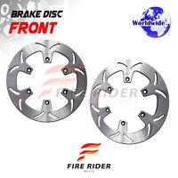 FRW 2x Front Brake Disc Rotor For HONDA ST1100 PAN EUROPEAN 96-01 97 98 99 00