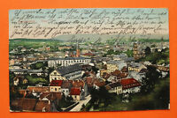 Saarland AK Saarbrücken 1911 Total Straße Häuser Gebäude Ortsansicht Kirchen ++