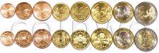 Austria 8 coins set 2011-2015 euro UNC (#1414)