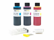InkPro Premium Tricolor Ink Refill Kit for HP 60/61/62/63/64/65/XL 4oz/118mL