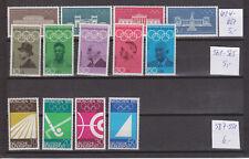 Bund BRD Olympische Spiele München Sondermarken aus 1968,1969+1970