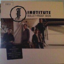 "Institute bullet-proof skin ltd / numbered clear vinyl 7"""