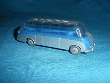 698A Wiking 730/6 Bus Setra S6 1956 Ho 1/87 Plástico