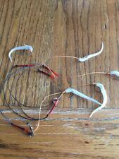"ready tied cod bashing rig 3"" Elvers On Size 1 Hooks X 5 Mackerel Cod Pollock"