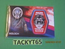 2018 SOLO: A STAR WARS STORY MOLOCH PATCH CARD MP-MH