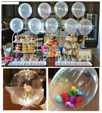 DIY Clear Latex Balloons Confetti Bubble Ballon PVC Foil PROM Love Party Float