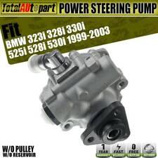 Power Steering Pump for BMW 323i 328i 330i 525i 528i 530i 96-2003 w/o Reservoir