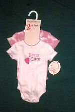 NWT MULTIVITAMINS CREEPERS INFANT GIRLS 0/3 MO'S..............pink..............
