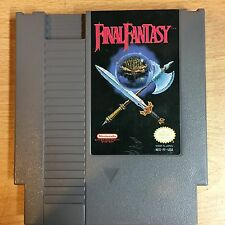 Final Fantasy Nintendo NES Game Cartridge Cleaned Tested Save Battery Saves