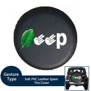 "Fingers Spare Tire Cover For Jeep Wrangler Sahara,Hummer H3,Toyota FJ (32""-37"")"
