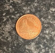 2002 ISLE OF MAN ONE PENCE 1P ANCIENT KEEILL OF MANN CIRCULATED