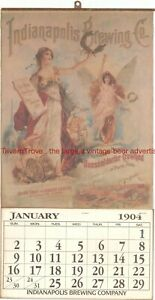 1904 INDIANAPOLIS BREWING COMPANY 11x21 inch Repro Lithograph TavernTrove