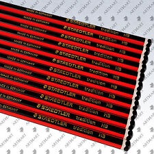 Staedtler Tradition® HB Pencils School Crafts Drawing Sketching Black 12 Pencils