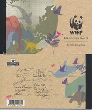 GB - 2011 PRESTIGE MARKENHEFT MH 166 - WWF TIERE MIT EUROPA CEPT BOOKLET **