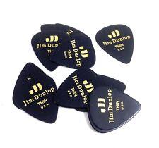Dunlop Guitar Picks Classic Celluloid Thin Black 12 Pack