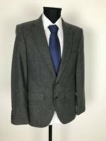 Luxus Tweed Sakko Jacket Gr.50 Wolle Jackett NEU ohne Etikett