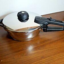 Fissler Vitaquick Vitavit Pressure Cooker 2.5 Liter Skillet Made in Germany