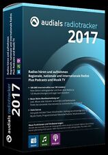 Audials Radiotracker Version 2017 DVD EAN 4023126118806 Internetradiorecorder