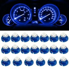 20Pcs Blue T5/T4.7 Neo Wedge LED Bulb Dash A/C Climate Control Heater Light